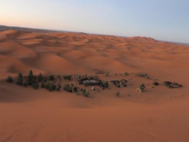 notte nel deserto